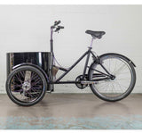 Nihola Low Easy Access Cargo Trike - Non-Drive Side View