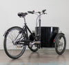 Nihola Low Cargo Trike - Drive Side Rear Angle