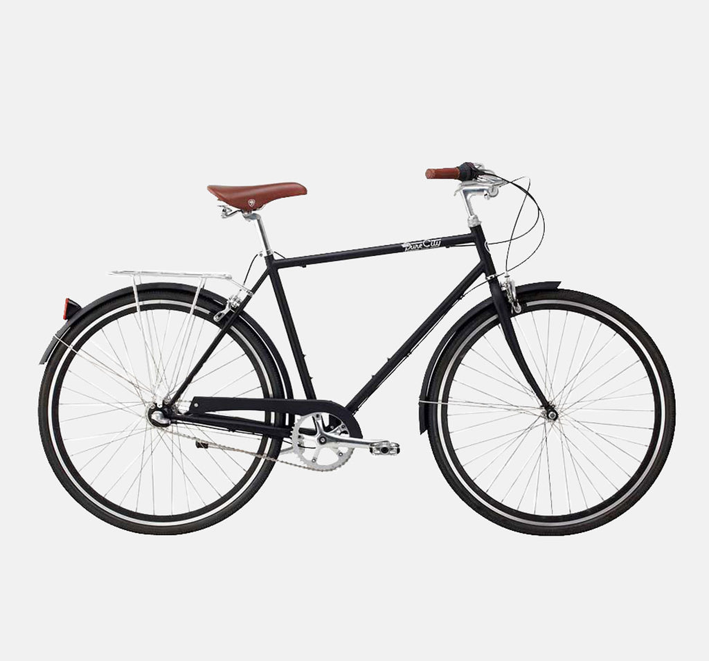 PURE CITY THE BOURBON ROADSTER IN MATTE BLACK