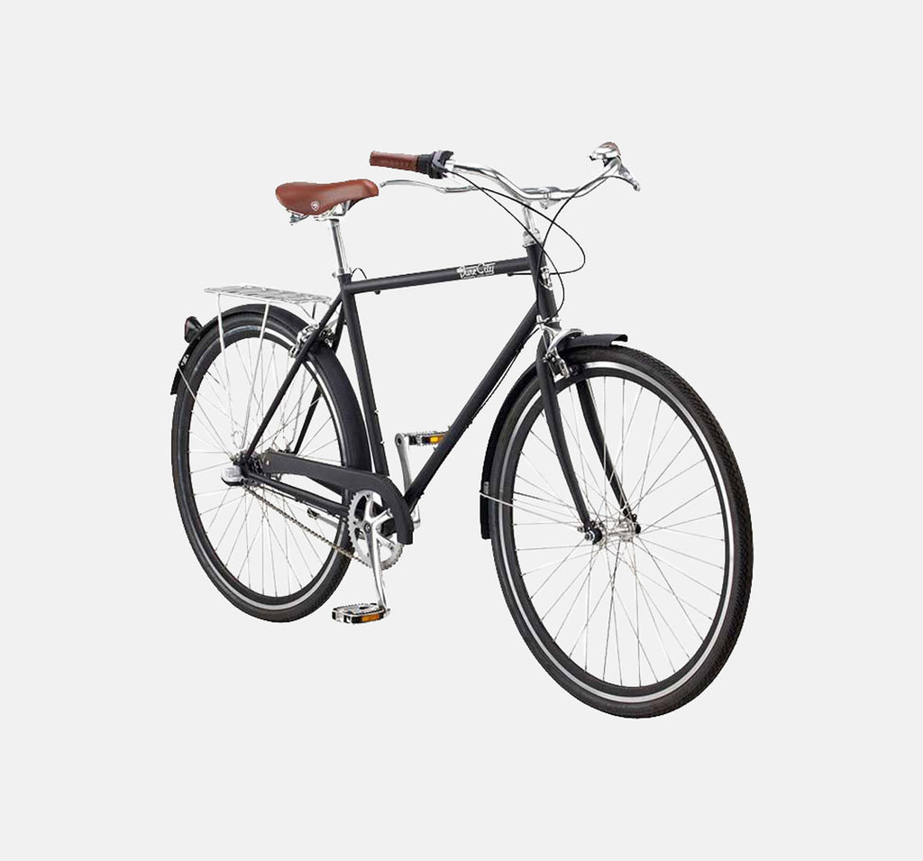 PURE CITY BOURBON ROADSTER BICYCLE IN MATTE BLACK
