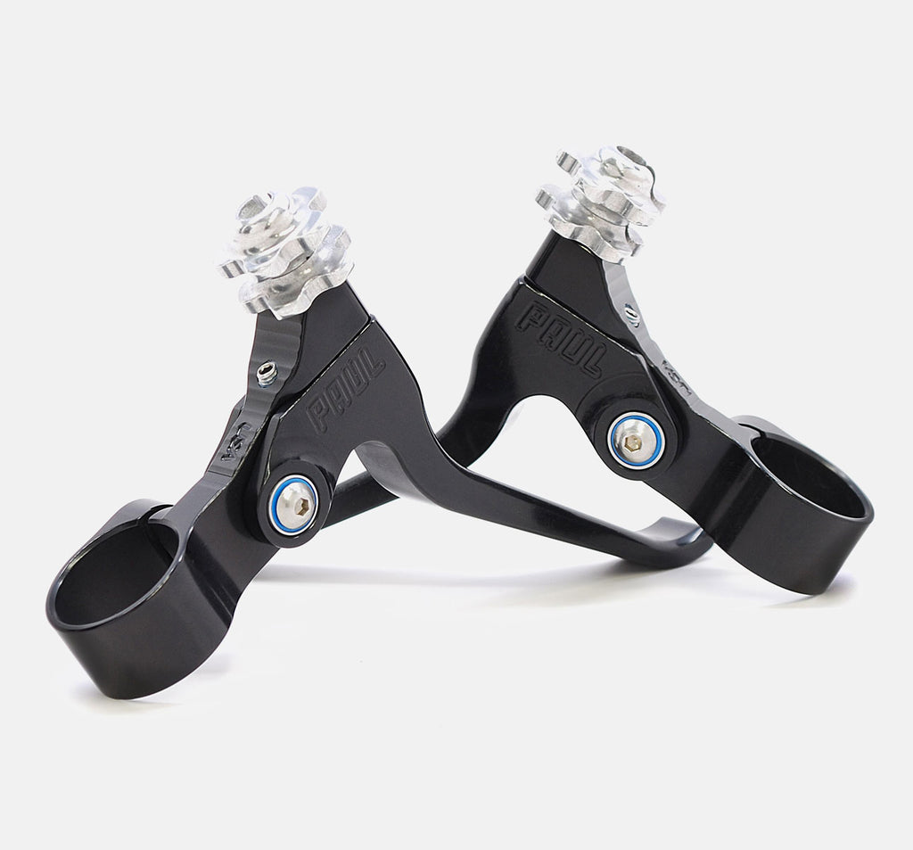 Paul Canti Levers Short Pull Brake Levers in Black