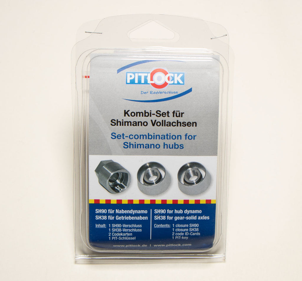 Pitlock Shimano Combination Security Bolt Set Packaging