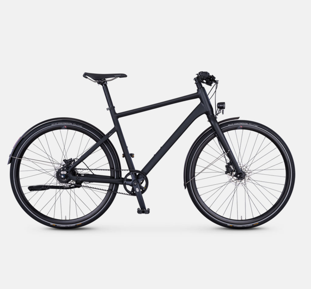 Rabeneick TX7 Urban Hybrid Bicycle (Gloss Black)