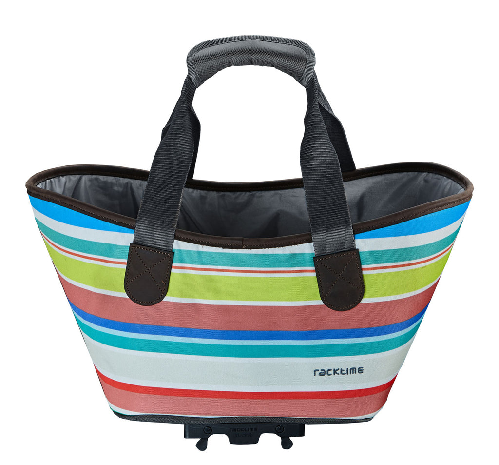 Racktime Agentha Bicycle Pannier Tote in Sweet Candy