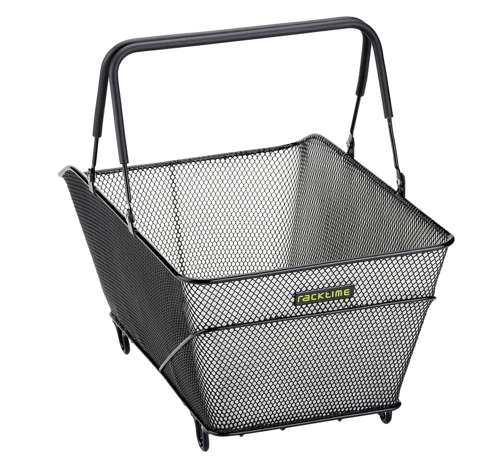 Racktime Baskit Trunk Rear Basket Large in Black