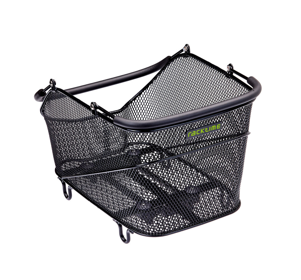 Racktime Baskit Trunk Rear Basket Small in Black