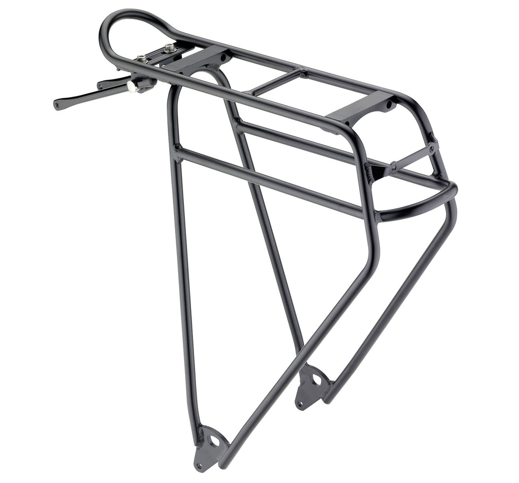 "Racktime Lightit Touring Pannier in Black for 28"" Wheels"