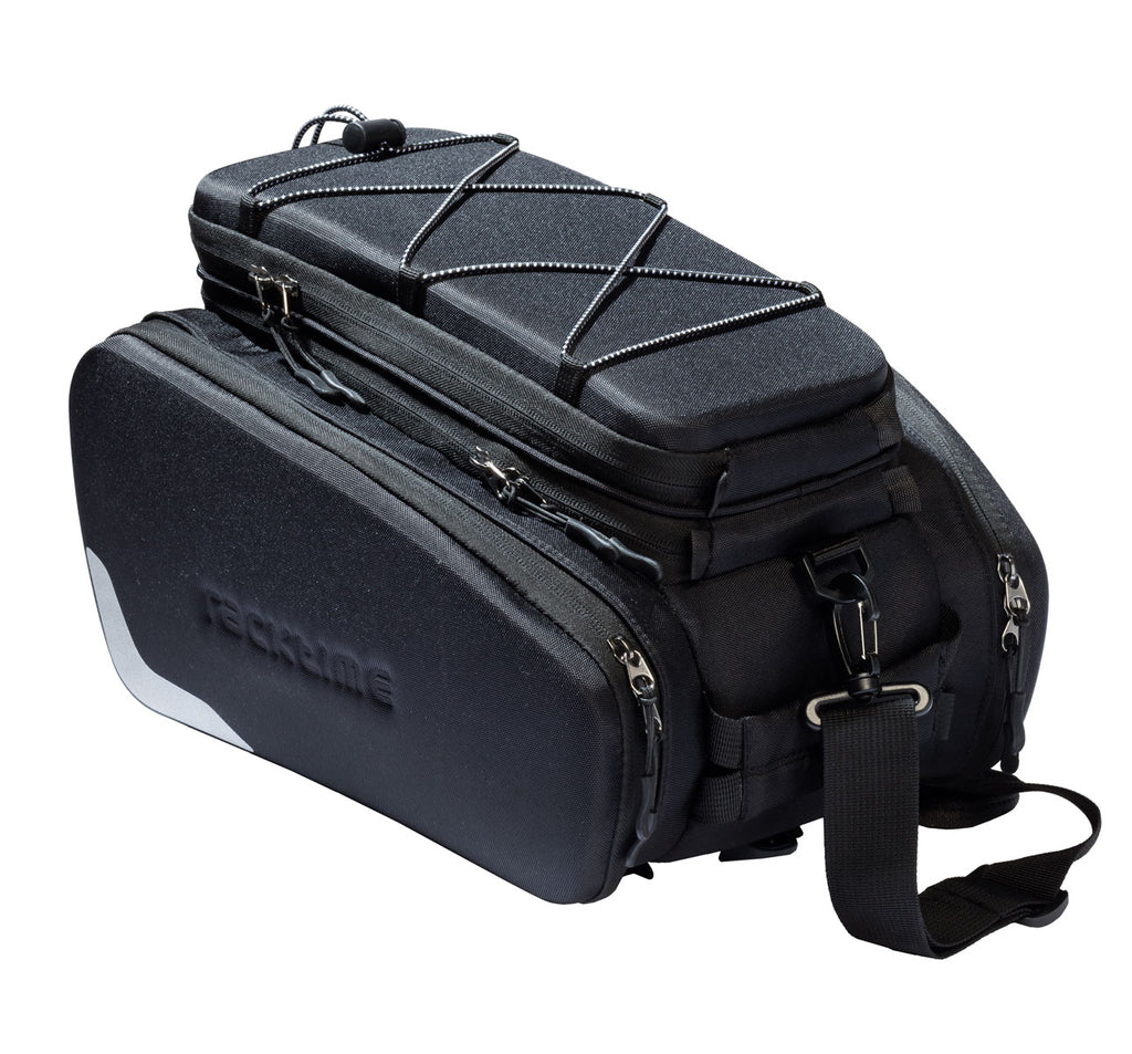 Racktime Odin Extendable Trunk Bag in Black