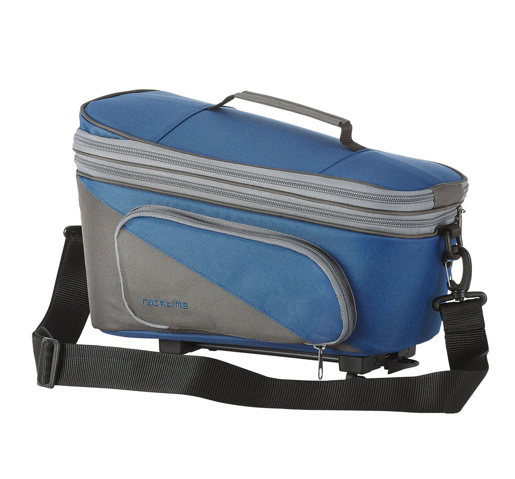 Racktime Talis Plus Extendable Trunk Bag in Berry Blue
