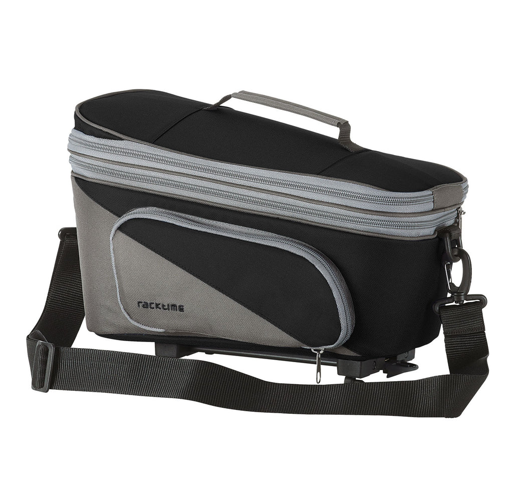 Racktime Talis Plus Extendable Trunk Bag in Carbon Black