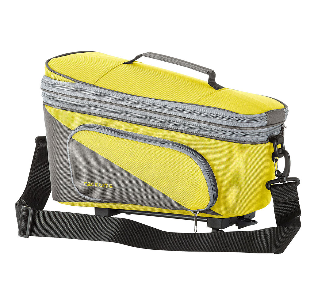Racktime Talis Plus Extendable Trunk Bag in Lime Green