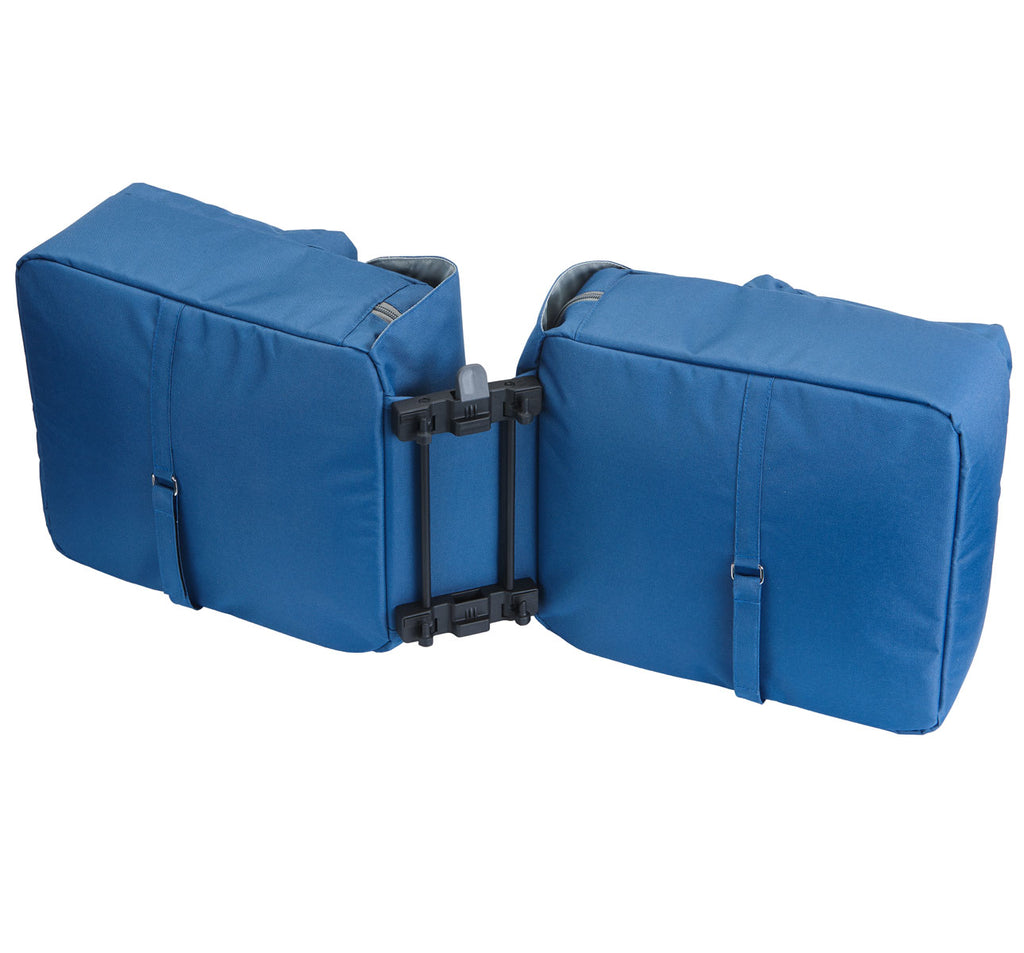 Racktime Ture Double Waterproof Pannier Bag with Snap-It System