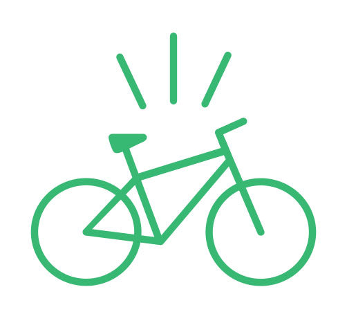 Recreational Bike Graphic for Curbside Cycle Sales Consultation