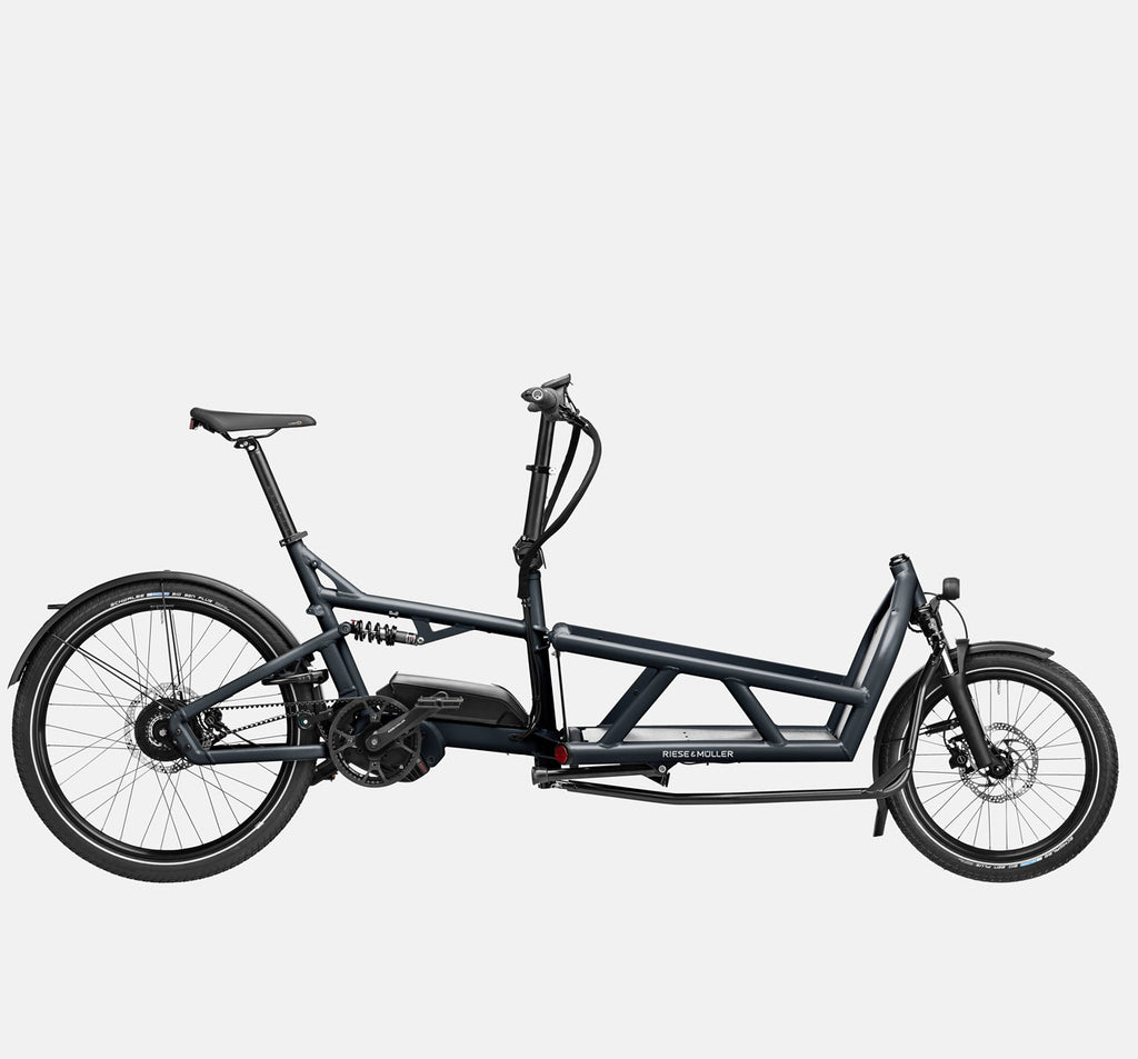 Riese & Muller Load 60 Vario E-Cargo Bike in Coal Grey Matte
