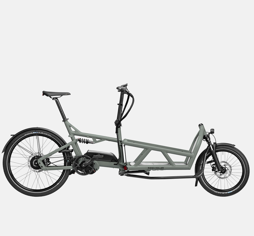 Riese & Muller Load 60 Vario E-Cargo Bike in Tundra Grey Matte