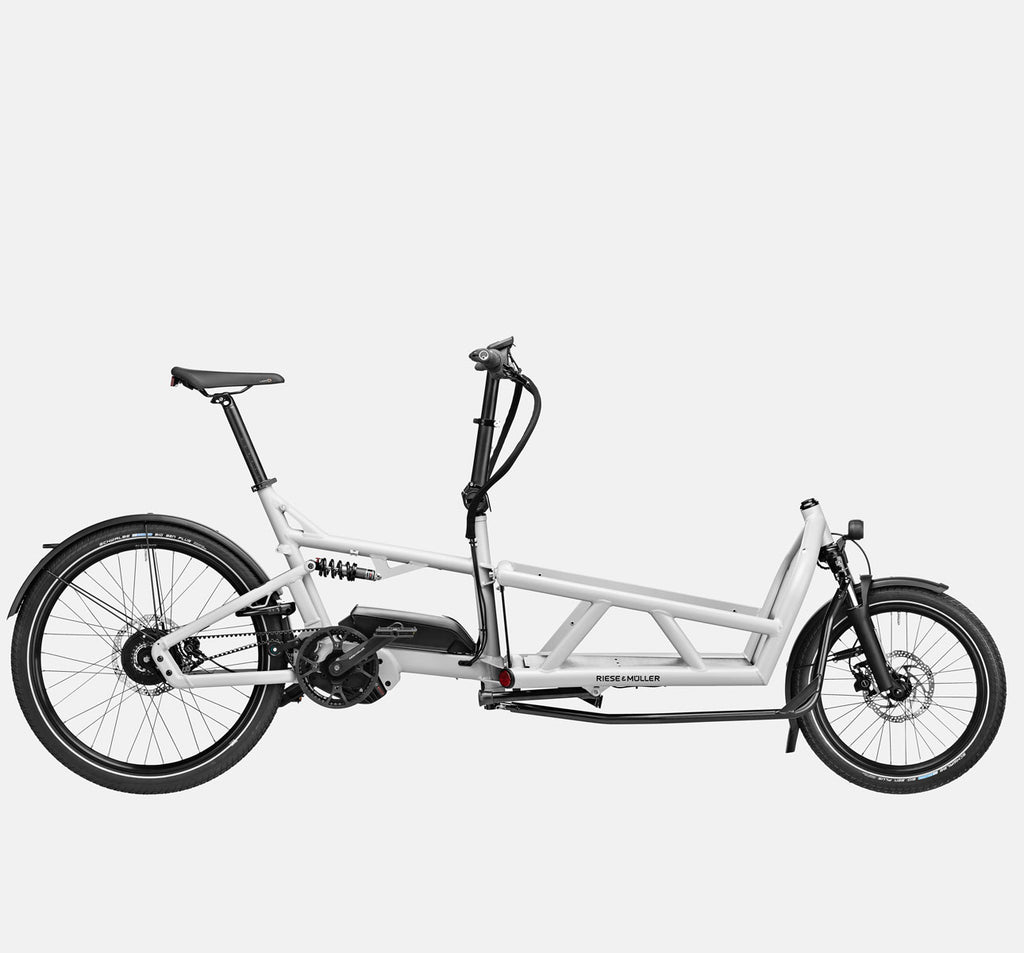 Riese & Muller Load 60 Vario E-Cargo Bike in White Gloss
