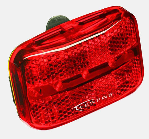REAR BATTERY LIGHT BY SPANNINGA - PERMANENT