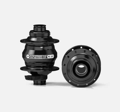 PD-8X-150 DYNAMO HUB - 150/15MM - 6 BOLT DISC