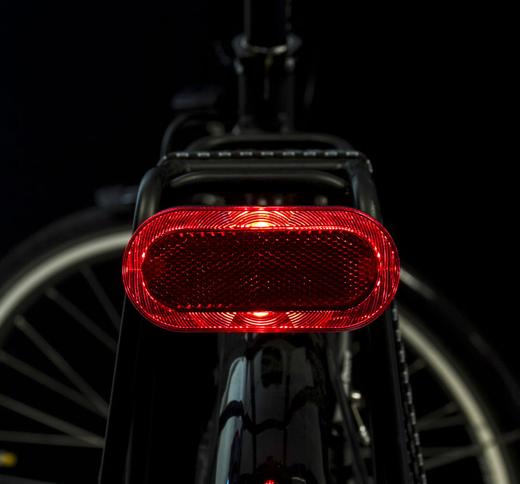SPANNINGA ELIPS BATTERY REAR LIGHT MOUNTED