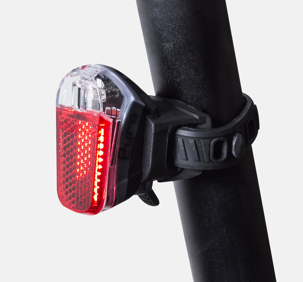 SPANNINGA PYRO SEAT POST MOUNT USB RECHARGEABLE REAR LIGHT