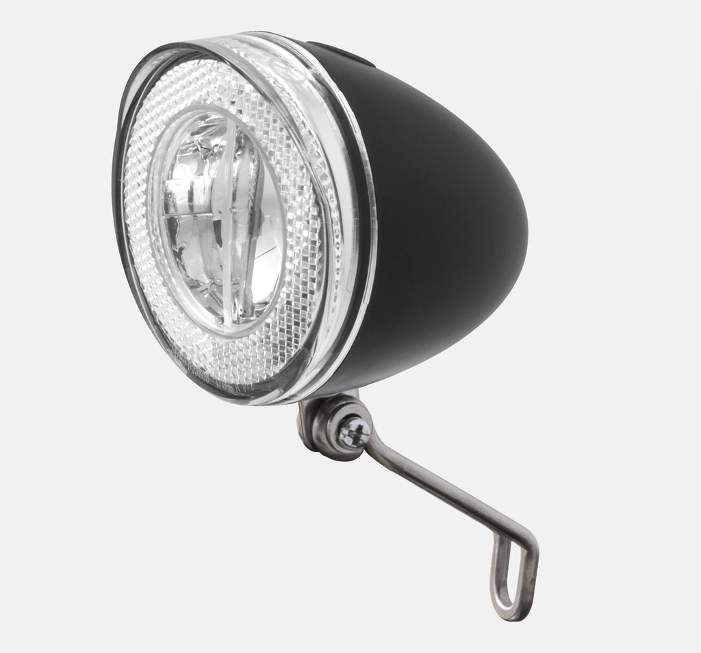 SPANNINGA SWINGO BOLT ON BATTERY FRONT LIGHT BLACK
