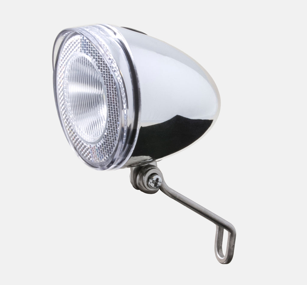 Spanninga Swingo XDO Dynamo Light in Chrome Silver