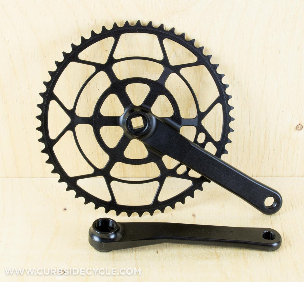 TI PARTS WORKSHOP CNC MACHINED CHAINSET FOR BROMPTON IN BLACK