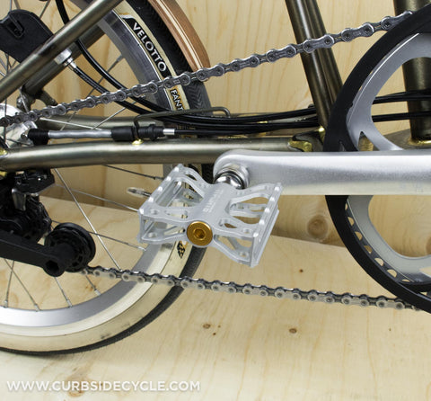 HANDLEBAR CATCH BOLT - TITANIUM