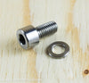 Ti Parts Workshop Titanium Handlebar Catch Bolt in Raw Ti