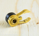 TI PARTS WORKSHOP COMPLETE HANDLEBAR AND CATCH BOLT SET IN BLACK IN GOLD