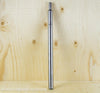 TI PARTS WORKSHOP TITANIUM STANDARD SEATPOST IN SILVER FROSTED