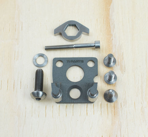 CHAIN TENSIONER & PULLEYS - MAGNESIUM - 2/6 SPEED