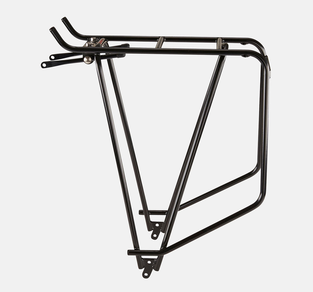Tubus Cargo Classic Rear Rack In Black - Adjustable Bike Rack With High Carry Capacity