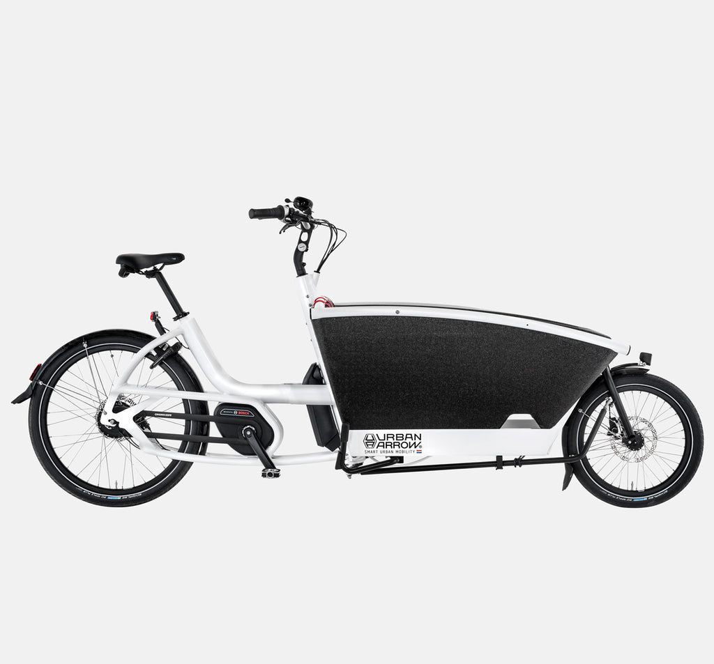 Urban Arrow Family Cargo Bike in White