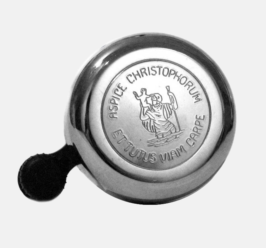 WIDEK ST CHRISTOPHER BICYCLE BELL IN CHROME