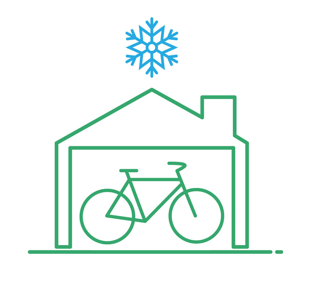 Indoor Winter Storage for your Bicycle at Curbside Cycle