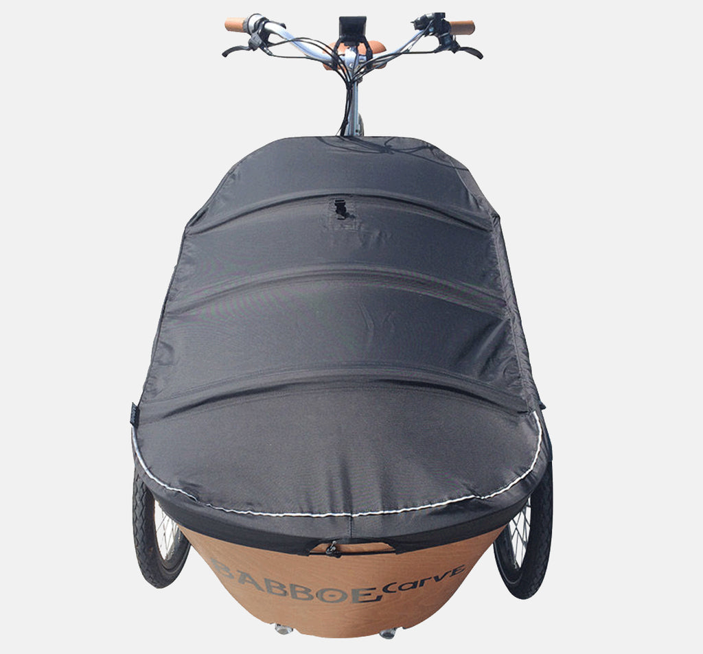 Babboe Carve Cargo Bike Rain Cover For Cargo Box - Closed