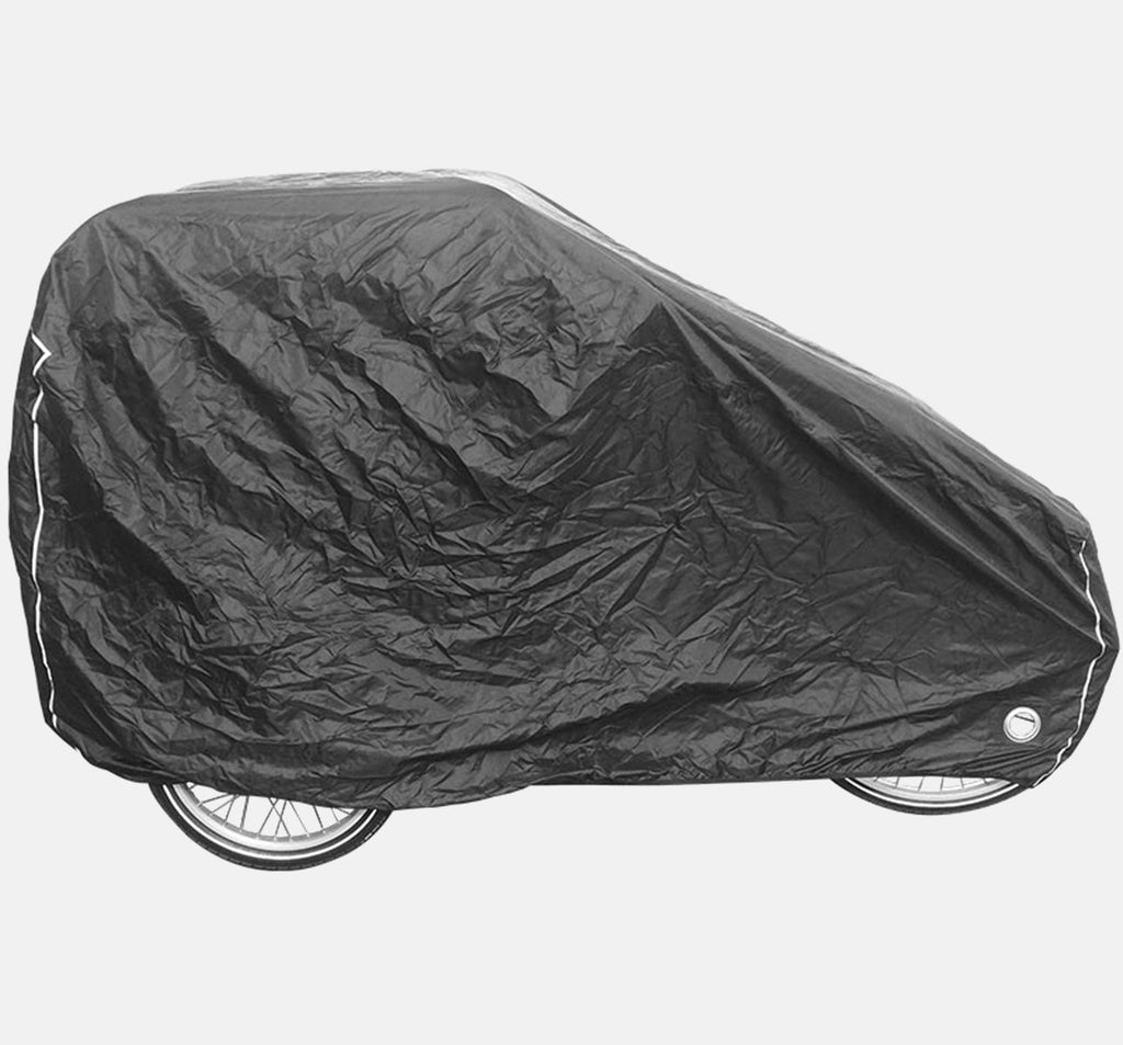 Babboe Curve/Carve Luxury Outdoor Cargo Pyjama Cover On Bike