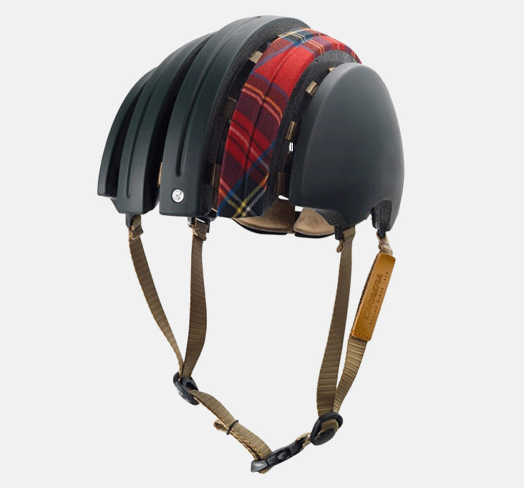 Brooks x Carrera Boutlbee Foldable Helmet - Green and Red