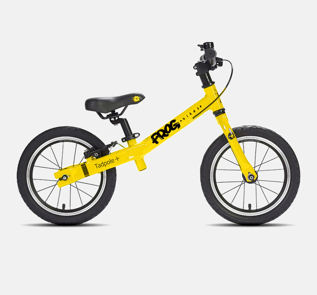 FROG TADPOLE PLUS BALANCE BIKE FOR 3-4 YEARS OLD IN TOUR DE FRANCE YELLOW