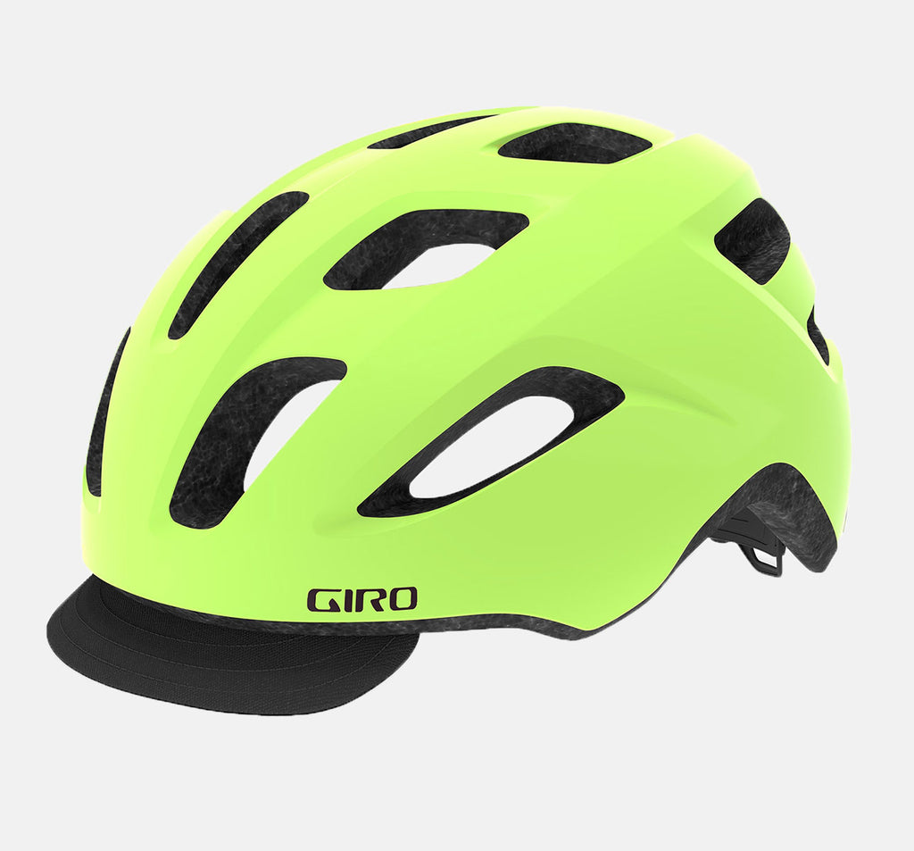 Giro Cormick MIPS Urban Bicycle Helmet in Hi-Viz Yellow