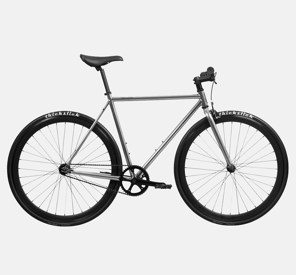 Pure Fix Oscar - Chrome Fixie/Single Speed Bicycle