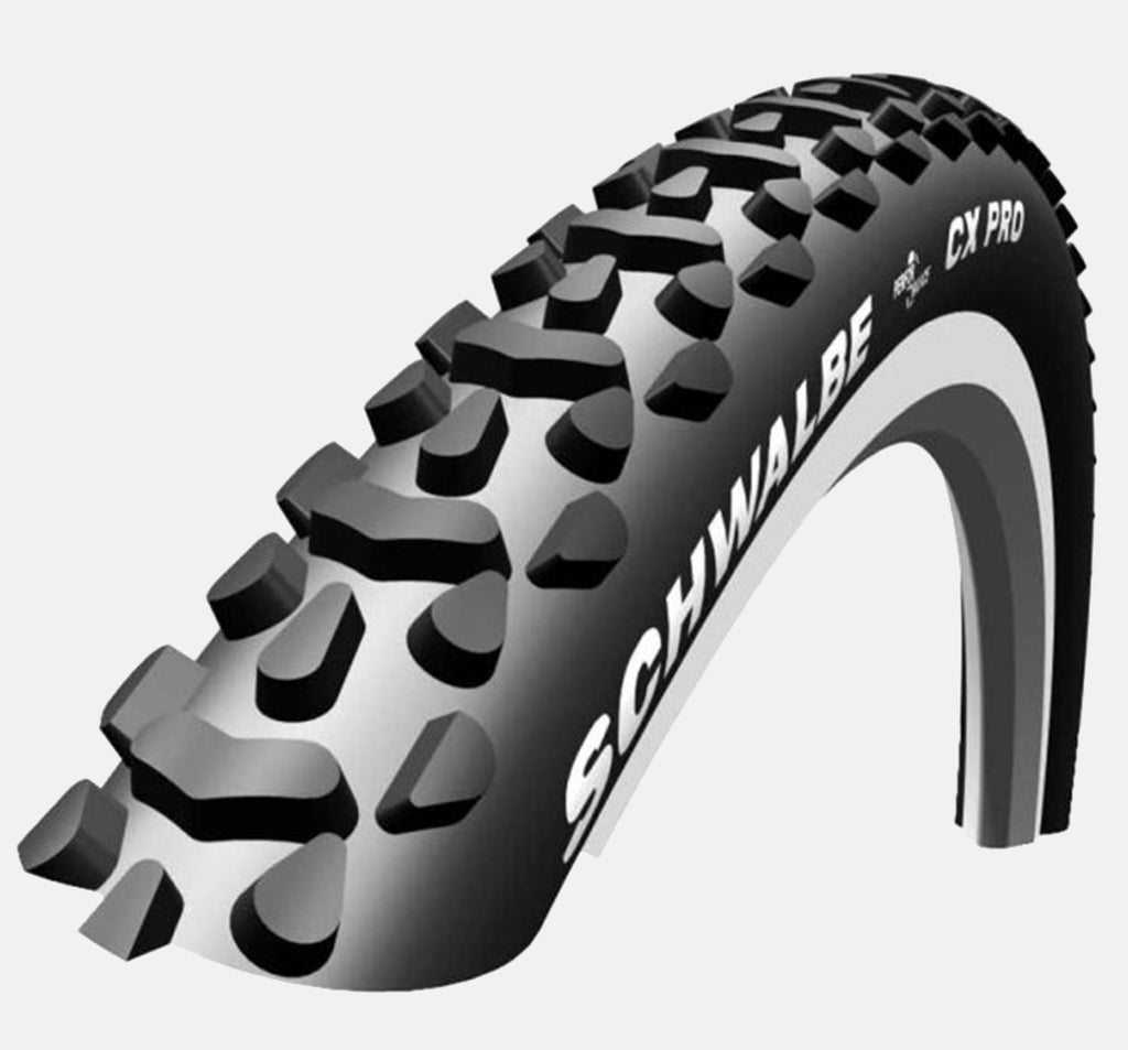 Schwalbe CX Pro Offroad Bike Tire - Closeup Of Tread