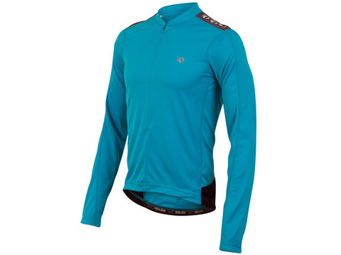 Pearl Izumi Quest Long Sleeve Jersey - Mens - Cool Blue