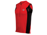 Pearl Izumi Select Triathlon Sleeveless Jersey - Mens - Red and Black