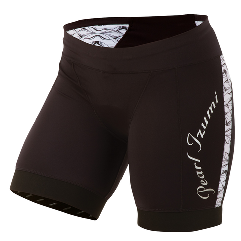 Pearl Izumi Elite InRCool Tri Race Short - Womens - Black with White - XL Only