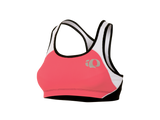 Pearl Izumi ELITE Triathlon Crop Top - Womens - Paradise Pink and White