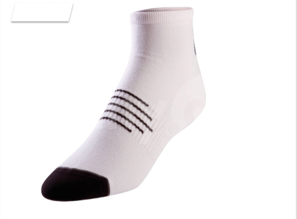 Pearl Izumi Elite Sock - Mens - White with Black