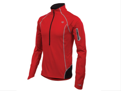 Pearl Izumi Mens Fly Evo Pullover Jacket - Red - Small Only