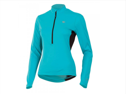 Pearl Izumi W Select Long Sleeve Sleeve Jersey - Womens - Scuba Blue - L only